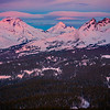 Three  Sisters From Tumalo Mountain - Bend, Oregon