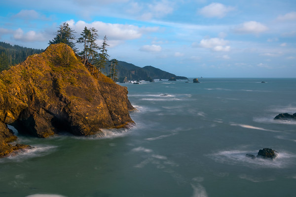 Looking Down Coastline From Samuel Boardman - -Samuel H Boardman State Scenic Corridor , Oregon Coast