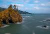 Looking Down Coastline From Samuel Boardman - -Samuel H Boardman State Scenic Corridor , Oregon Coast