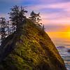 Sun Gap On Haystack - Samuel Boardman State Park, Southern Oregon Coast
