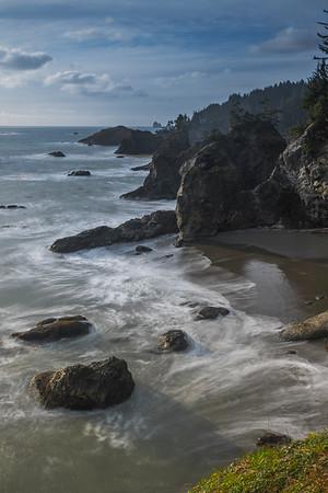 Along The Samuel Boardman Corridor -Samuel H Boardman State Scenic Corridor -  Oregon Coast