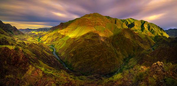 Imnaha Canyon Pano Wallowa County, Oregon