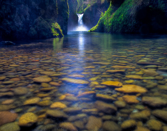 Pristine Waters  - Punchbowl Falls, Columbia Gorge Scenic Area, Oregon