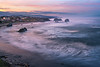 A Beautiful Morning Over The Town Of Bandon - Bandon Beach, Oregon Coast