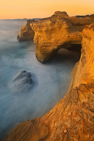 Cape Kiwanda Cliffs - Cape Kiwanda, Oregon