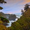 Framing The Crashing Wave And Hanging Tree - Samuel Boardman State Park, Southern Oregon Coast
