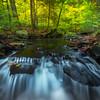 In Tight On Waterfall Cascades-Ricketts Glen State Park, Benton,  Pennsylvania