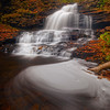 At The Base Of The Spinning Falls in Ricketts Glen-Ricketts Glen State Park, Benton,  Pennsylvania