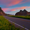 The Road Through The Gates - Badlands National Park, South Dakota