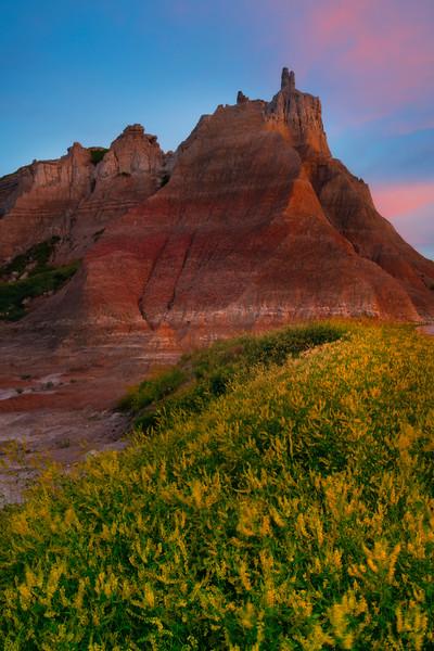 The Tower Of Power - Badlands National Park, South Dakota