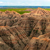 Pyramid Peaks Of The Badlands - Badlands National Park, South Dakota