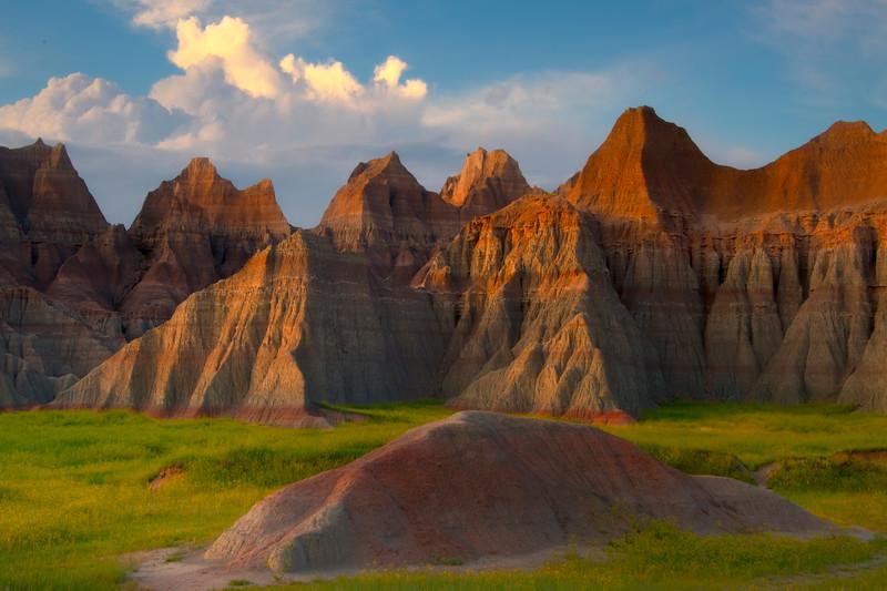 Within The Gates Of Sunset - Badlands National Park, South Dakota