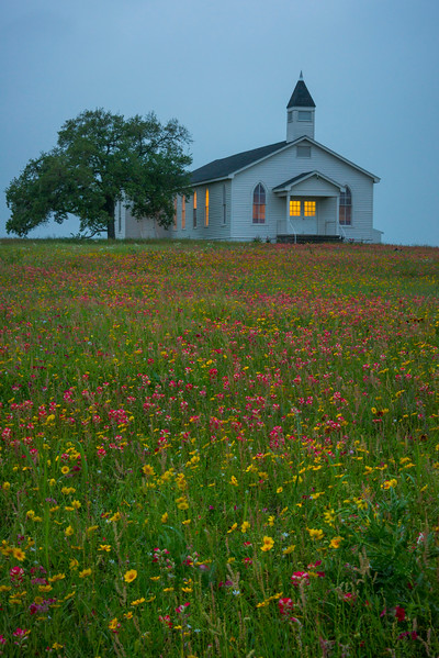 The Church At Dusk