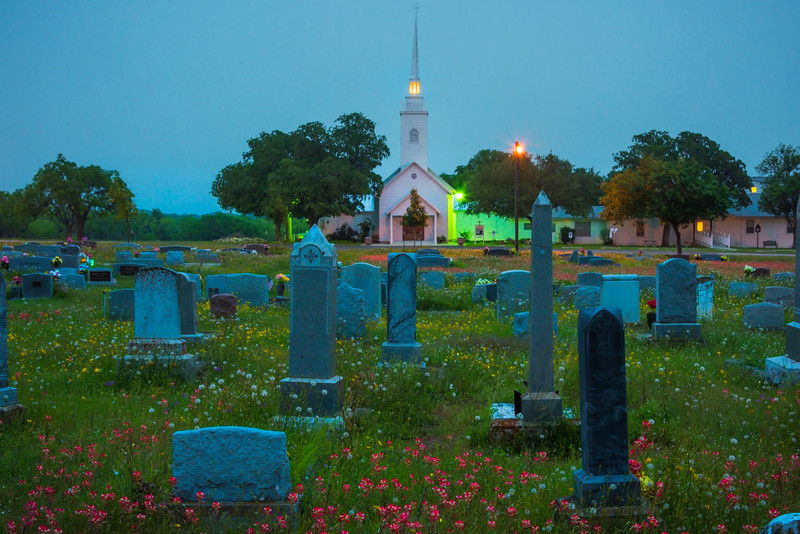 The Blue Hour At New Berlin Church
