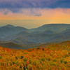 Rolling Hills Of Color From Top Of Grandfather Mountain - Grandfather Mountain, North Carolina