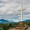 Overlooking Lake Junaluska With Cross Lake Junaluska, North Carolina