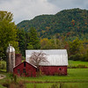 Rural Barn On The Boundaries Of Pisgah Forest - Pisgah Forest, North Carolina