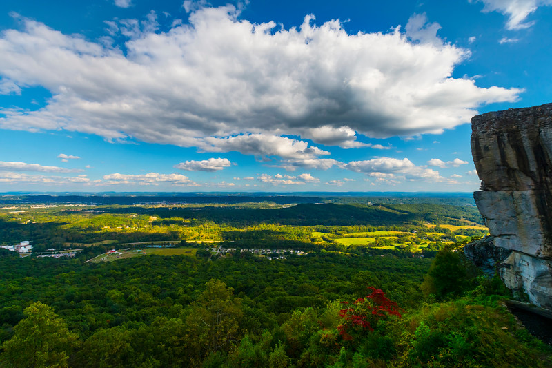 A View Of The Chattanooga From Lookout Mountain - Lookout Mountain, Chattanooga, Tennessee