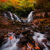 At The Bottom Of Soca Falls - Soca Falls, Qualla, North Carolina