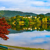 Island Capitol Building Reflected In Lake Junaluska Lake Junaluska, North Carolina