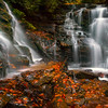At The Base Of Soca Waterfall - Soca Falls, Qualla, North Carolina