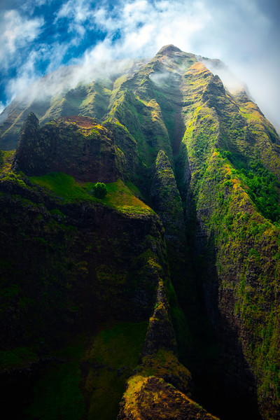 The Tower Of Spires - Na Pali Coastline, Kauai, Hawaii