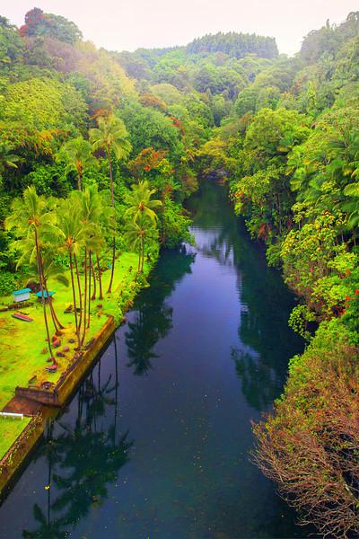 Hamakua Coast Bridge - The Big Island, Hawaii