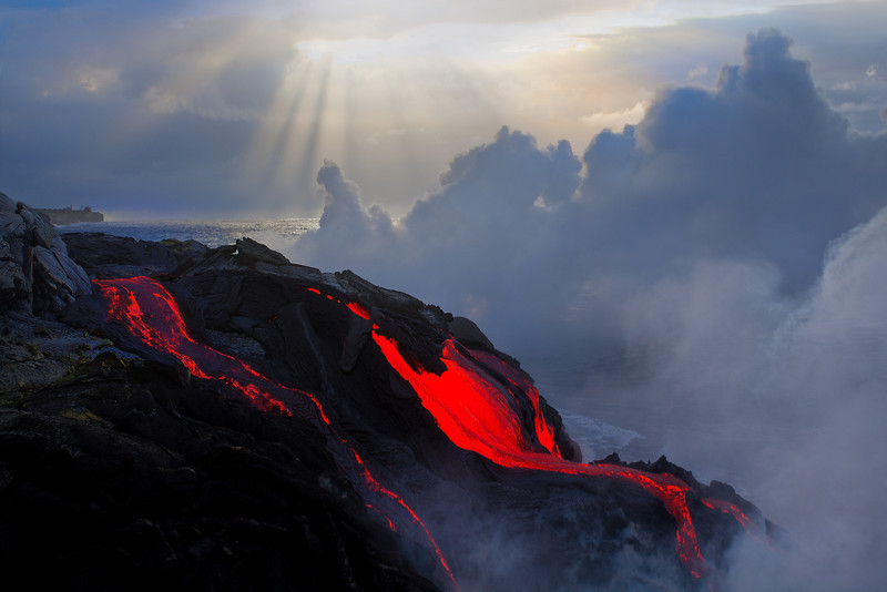 The Point Of Entry - Hawai'i Volcanoes National Park, The Big Island, Hawaii