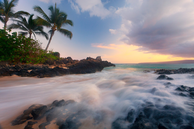 South Maui, Secret Cove Beach, Secret Beach, South Of Big Beach, Maui, Hawaii