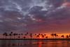 A' Bay Pond Sunset - Kona, The Big Island, Hawaii