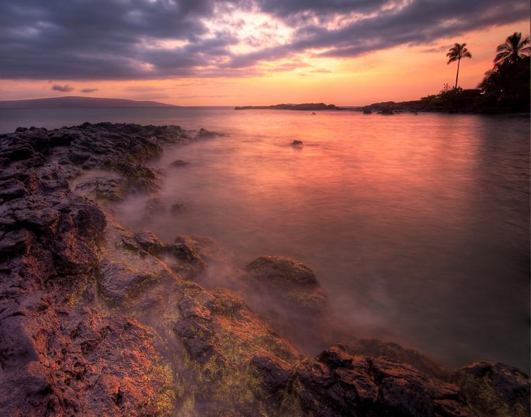 A Natural Pier - Makena Beach, Maui, Hawaii