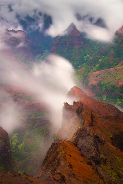 Inside The Heart Of The Canyon - Waimea Canyon State Park, West Side, Kauai