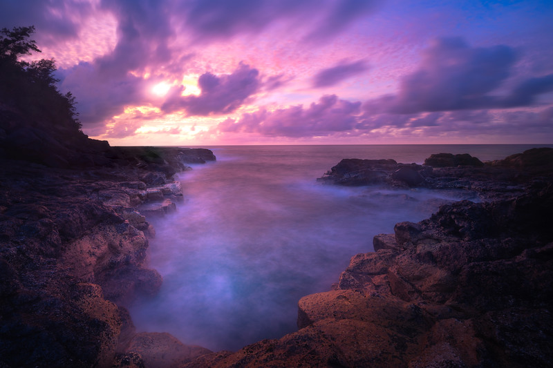 Kauai Sunset Glory - North Shore, Kauai, Hawaiian Islands
