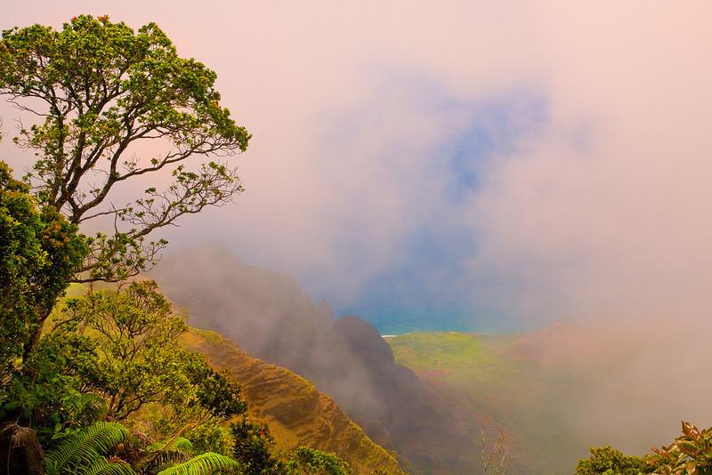 A Gap Of Color - Waimea Canyon, Kauai, Hawaii