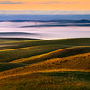 Rolling Waves Of Light And Shadow - Eid Road, Palouse, Idaho
