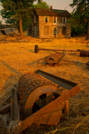 Nothing But Scraps And A Old House - Palouse, Eastern Washington