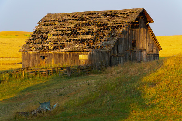 A Lonely Barn In Better Times