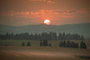 Smoky Sunrise Over The Palouse