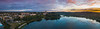 Pano Of The Capital Building At Sunset - Olympia, Washington