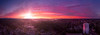 Pano Of Olympia Sunset From Water Tower - Olympia, Washington