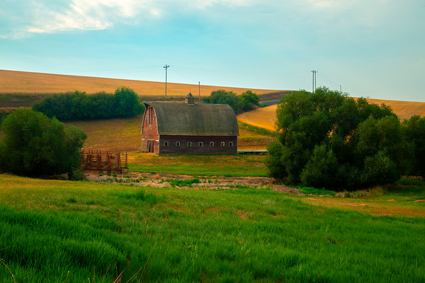 At Home In The Valley - Palouse, Eastern Washington