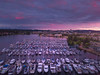 Sunset Pinks Overlooking Marina And Capital Building - Olympia, Washington