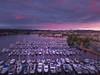Sunset Pinks Overlooking Marina And Capital Building - Olympia, Washington