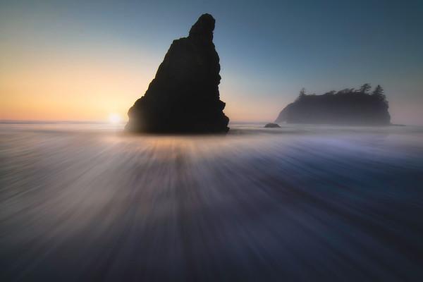 Ruby Beach Glow_