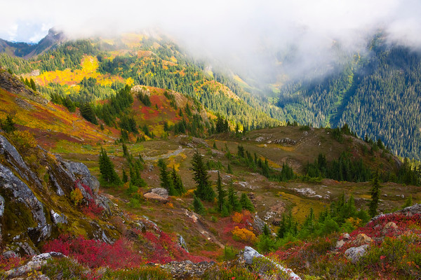 A Mirage Of Color In The Cascades - North Cascades National Park, WA
