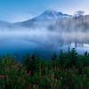 Reflection Lakes and Spirea - Reflection Lakes, Mt Rainier NP, WA