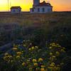 Point Wilson Lighthouse At Sunset