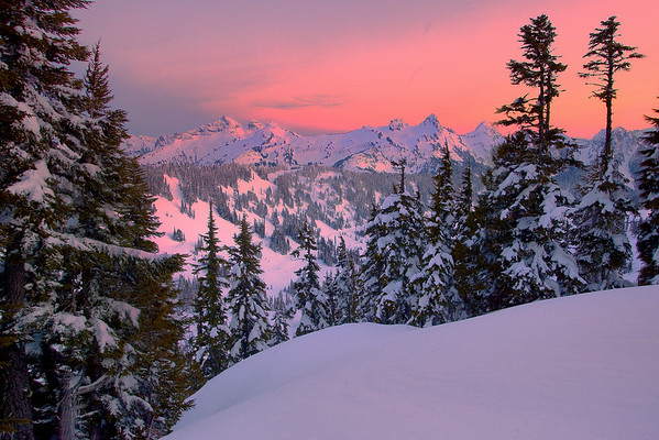 A Sunset Not To Ever Forget - Tatoosh Range, Mount Rainier National Park