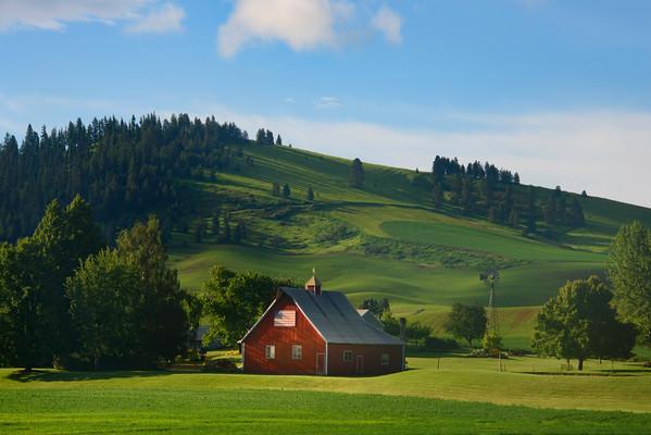 Home On The Palouse Range - The Palouse Region, Washington