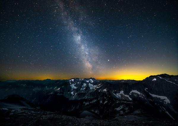 Milky Way From Sahale Arm